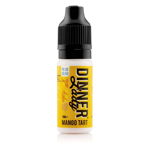 Dinner Lady Mango Tart 50-50 Bottle 10ml E-liquid