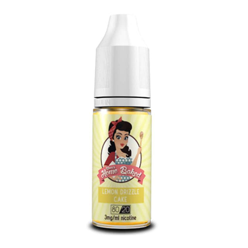 Mum's Home Baked Lemon Drizzle Cake 10ml E-liquid