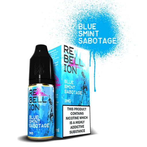 Rebellion Blue Smint Sabotage 10ml E-liquid