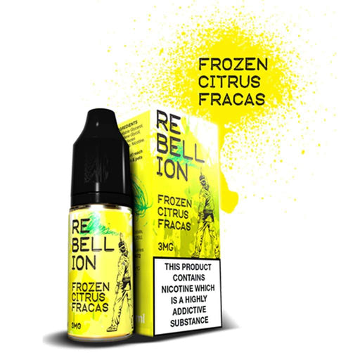 Rebellion Frozen Citrus Fracas 10ml E-liquid