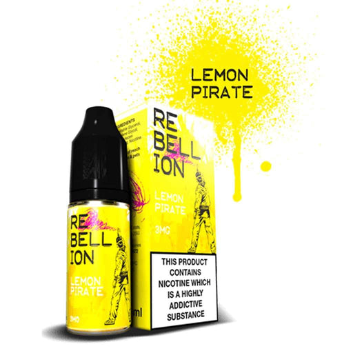 Rebellion Lemon Pirate 10ml E-liquid