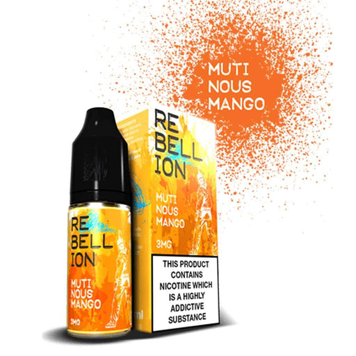 Rebellion Mutinous Mango 10ml E-liquid