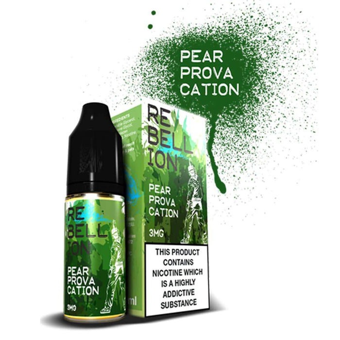 Rebellion Pear Provacation 10ml E-liquid
