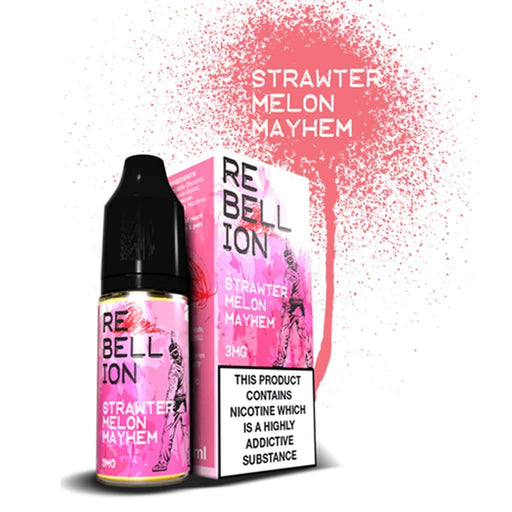 Rebellion Strawtermelon Mayhem 10ml E-liquid