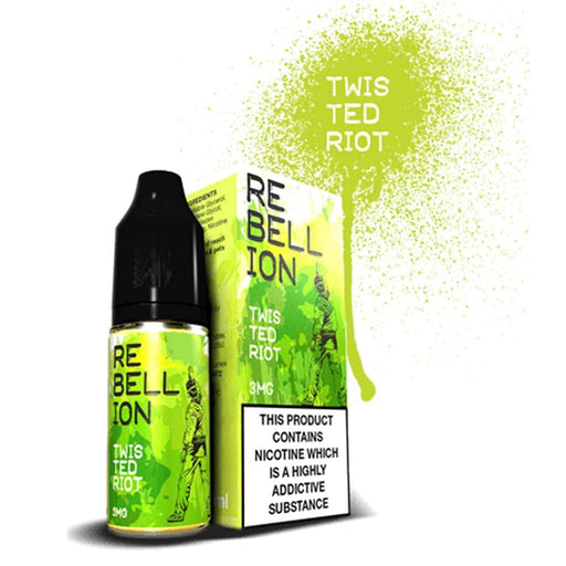 Rebellion Twisted Riot 10ml E-liquid