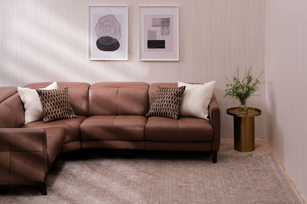 Carpet for Living Room Size | Beige Luxurious Rug