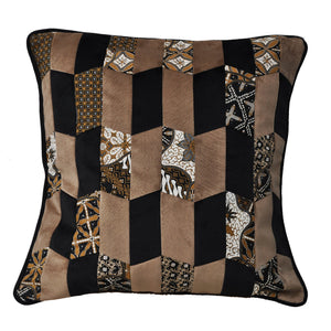 Baba Camel Patchwork Cushion - Departures & Arrivals  - 1