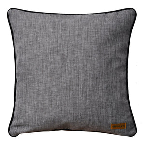 Baba Black Patchwork Cushion - Departures & Arrivals  - 2