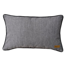 Load image into Gallery viewer, Baba Gray Asymmetrical Patchwork Cushion - Departures & Arrivals  - 2