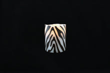 Load image into Gallery viewer, Zebra Wax Inlay Flameless Candle - Departures & Arrivals  - 1
