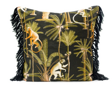 Load image into Gallery viewer, Barbados Anthracite Square Cushions