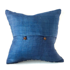 Blue Ikat Cushion No. 4 Cushions