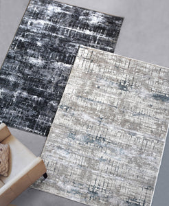 Graffiti Gray Rug Rugs