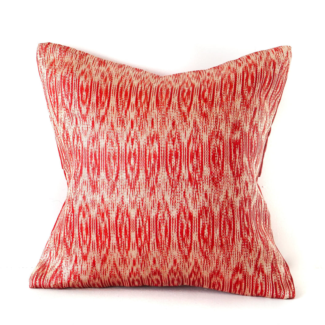 Vermillion Ikat No. 1
