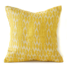 Load image into Gallery viewer, Ochre Ikat No. 3 Cushions