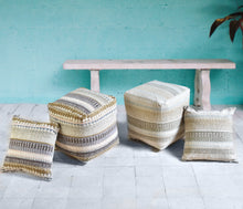Load image into Gallery viewer, Gypset Dark Pouf Stools & Poufs