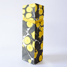 Load image into Gallery viewer, Rectangular Wine Box Yellow Black