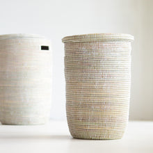 Load image into Gallery viewer, White basket storage_Living DNA Singapore