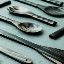 Load image into Gallery viewer, Ironwood Serving Spoon and Fork Small - Departures & Arrivals  - 2