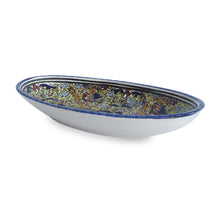 Load image into Gallery viewer, Mediterranean Fish Plate with Green Detail - Departures & Arrivals  - 2