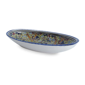 Mediterranean Fish Plate with Green Detail - Departures & Arrivals  - 2