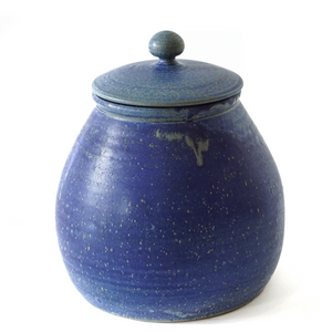 Cobalt Cookie Jar