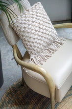 Load image into Gallery viewer, Macrame Cushion Cushions