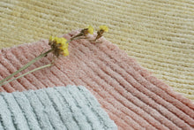 Load image into Gallery viewer, Peach Macaron Viscose Rug - Living DNA Singapore