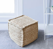 Load image into Gallery viewer, Fleur Pouf Stools & Poufs