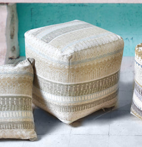 Gypset Light Pouf Stools & Poufs