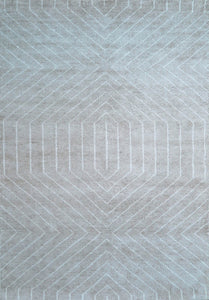 Quantum Handwoven Beige Rug - Living DNA Singapore