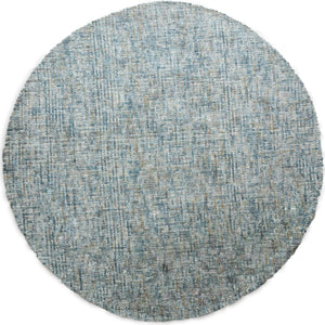 Meadow Blue Round Rug