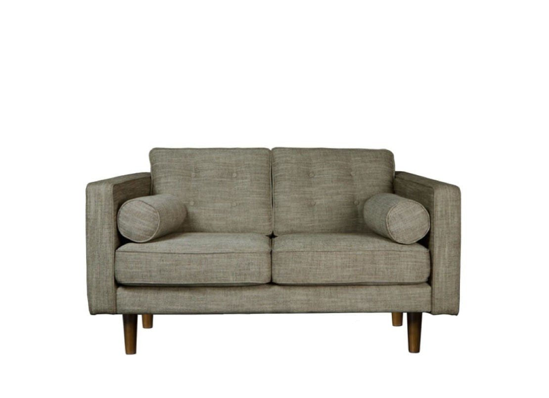 2 Seater Sofa - Olive Green Chairs