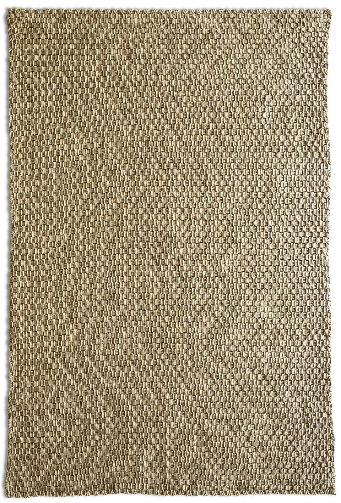 Kyoto Weave Beige All-Weather Rug Rugs