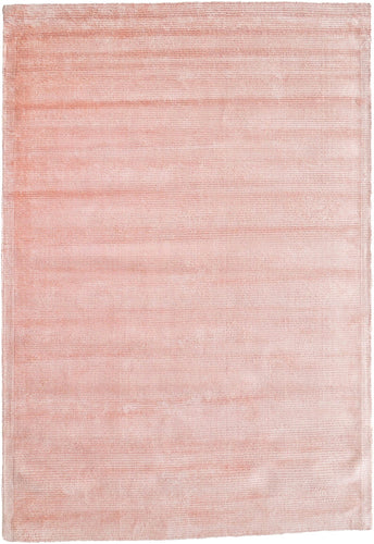 Peach Macaron Viscose Rug - Living DNA Singapore