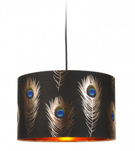 Load image into Gallery viewer, Peacock Feathers Lamps
