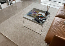 Load image into Gallery viewer, Quantum Beige Rug Rugs