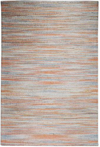 Sandstorm Orange Hemp Rug - Departures & Arrivals