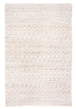 Load image into Gallery viewer, Java White Hemp and Cotton Rug - Departures & Arrivals  - 1