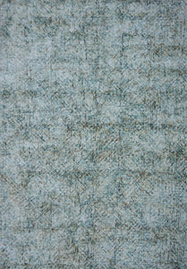 Moss Green Viscose Rug - Living DNA Singapore