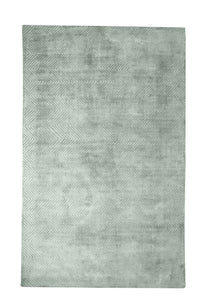Lotus Green Viscose Rug - Living DNA Singapore