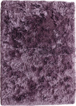 Load image into Gallery viewer, Shaggy Orchid Mauve Polyester Rug - Living DNA Singapore