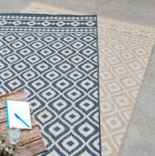 Load image into Gallery viewer, Fresco Outdoor Beige Rug Rugs