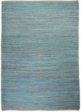 Load image into Gallery viewer, Coastal Turquoise Rug - Departures & Arrivals  - 1