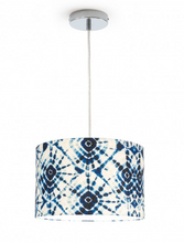 Load image into Gallery viewer, Shibori Swirls Pendant Lamps