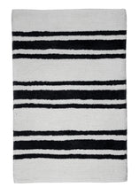 Load image into Gallery viewer, Stripe Midnight Bath Carpet - Departures & Arrivals  - 1