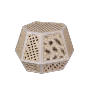 Basilisa Geometric Accent Table - Departures & Arrivals