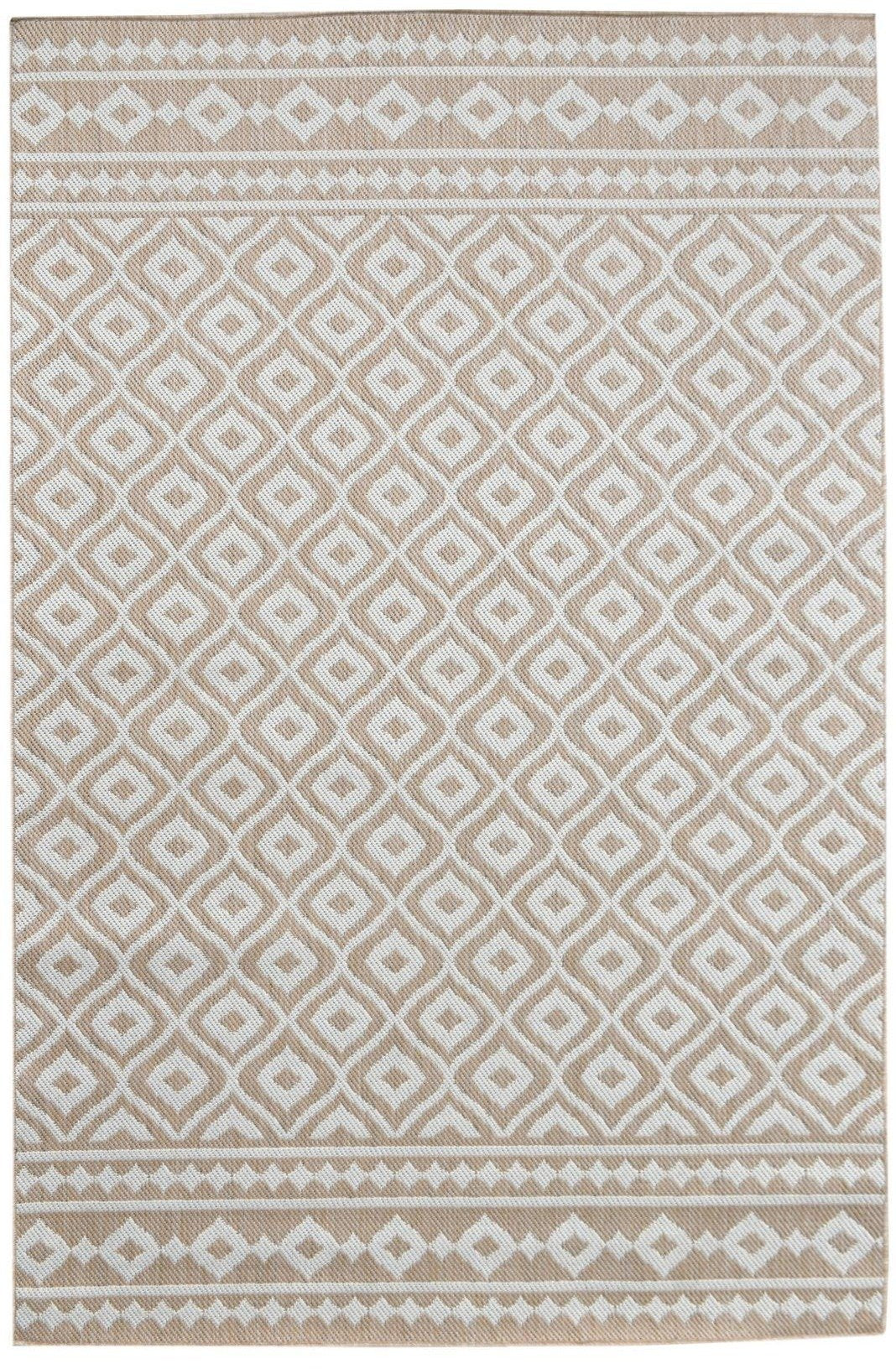 Fresco Outdoor Beige Rug Rugs