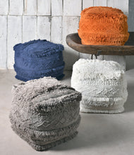 Load image into Gallery viewer, Boho Earth Pouf