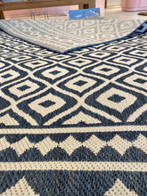 Load image into Gallery viewer, Fresco Outdoor Blue Rug